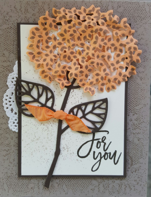 Thoughtful branches card