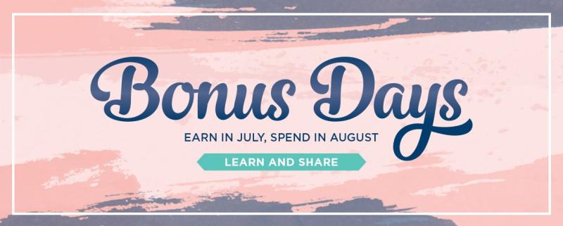 2020 Bonus Days