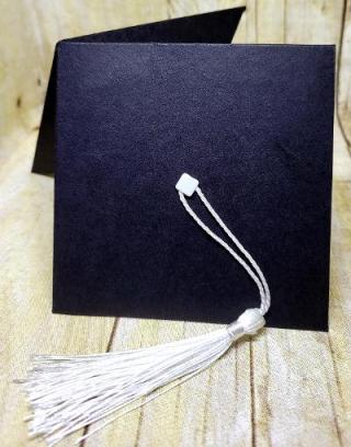 Grad cap card 1